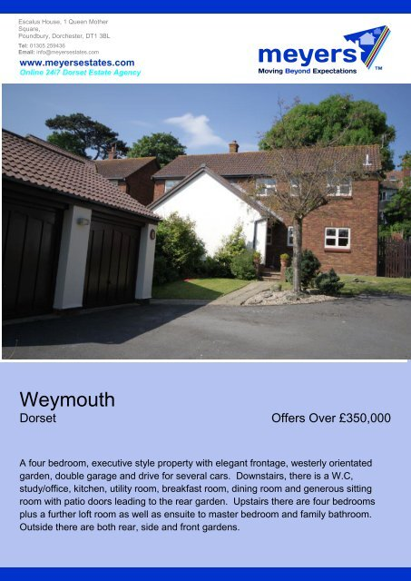 Weymouth - The Guild of Professional Estate Agents