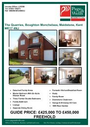 The Quarries, Boughton Monchelsea, Maidstone, Kent ME17 4NJ