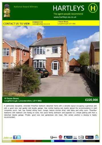 Sell with Hartleys. - The Guild of Professional Estate Agents