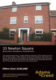 33 Newton Square - The Guild of Professional Estate Agents