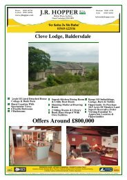 Clove Lodge, Baldersdale - The Guild of Professional Estate Agents