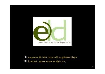 centrum för internationellt ungdomsutbyte ... - Textalk Webnews