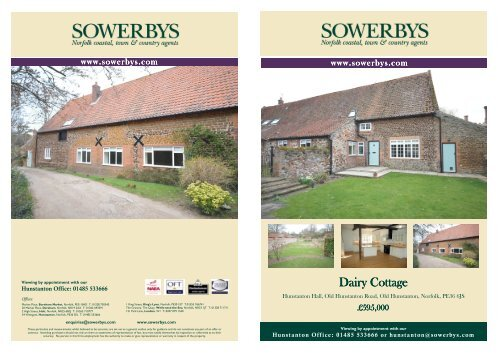 Dairy Cottage - The Guild of Professional Estate Agents