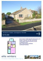 96 Eastwood, Chatteris