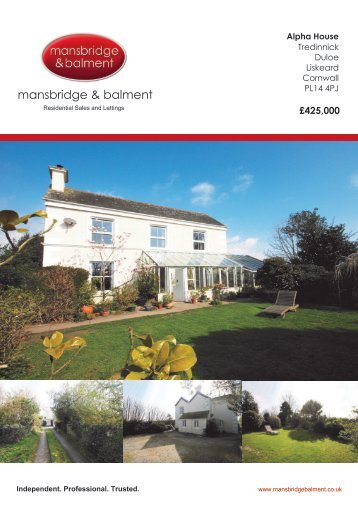mansbridge & balment - The Guild of Professional Estate Agents