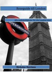 Alla nödvändigheter för din London resa - Textalk Webnews
