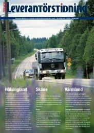 Hälsingland Skåne Värmland - Textalk Webnews