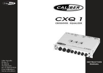 Manual CXQ 1