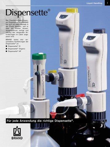 Dispensette® III