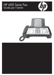 HP 600 Serie Fax