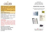 VIN & CHAMPAGNE (G.Vuillion) - Websites de l'ISAE