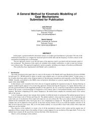 A General Method for Kinematic Modelling of Gear Mechanisms ...