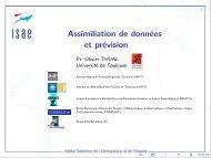 Assimilation de données et prévision (par Olivier Thual)