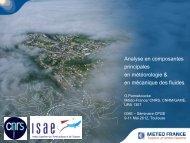 Analyse en composantes principales en météorologie & en ...