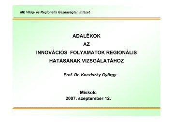 Kocziszky György előadása
