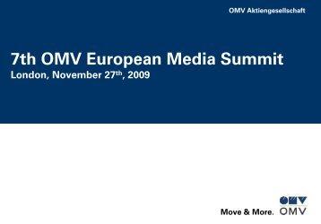 7th OMV European Media Summit