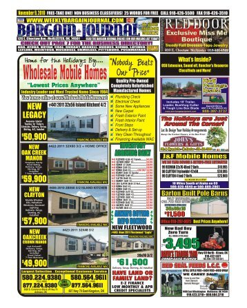 McALESTER - The Weekly Bargain Journal