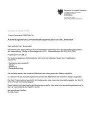 VWL I - Bergische Universität Wuppertal