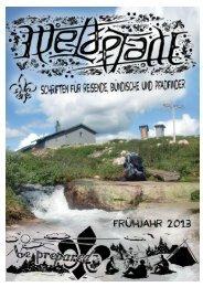 Ausgabe Frühjahr 2013 - Weltpfade