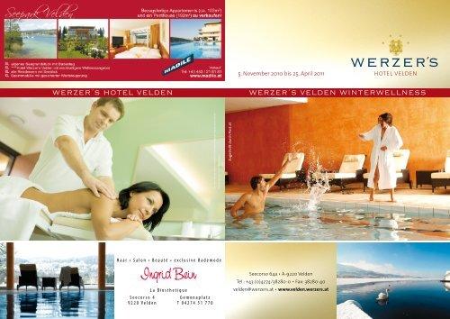 Velden Flyer Winterwellness_2010_korr.indd - WERZER'S Hotels ...