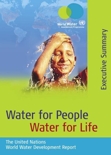 Water for people, water for life - United Nations Sustainable ...