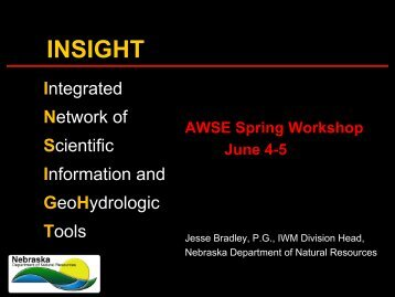 INSIGHT - Association of Western State Engineers