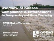 Overview of Kansas Compliance & Enforcement - Association of ...