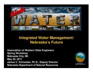 Integrated Water Management - Association of Western State ...