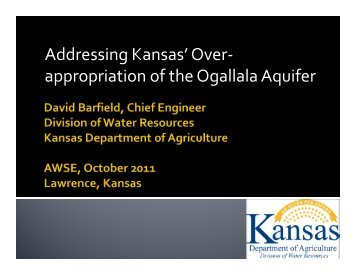 Kansas - Association of Western State Engineers