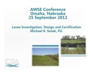 Levee Investigation, Design and Certification - Association of ...