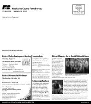Waukesha Newsletter June 2013 - Wisconsin Farm Bureau Federation