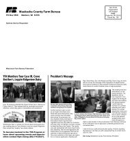 Waukesha Newsletter May 2012 - Wisconsin Farm Bureau Federation