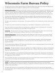 Farm Bureau Policy - Wisconsin Farm Bureau Federation - Page 6
