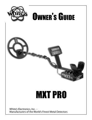 MXT PRO - White's Metal Detectors
