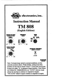 TM 808 Instruction Manual.pdf - White's Metal Detectors