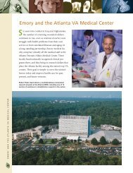 Emory and the Atlanta VA Medical Center
