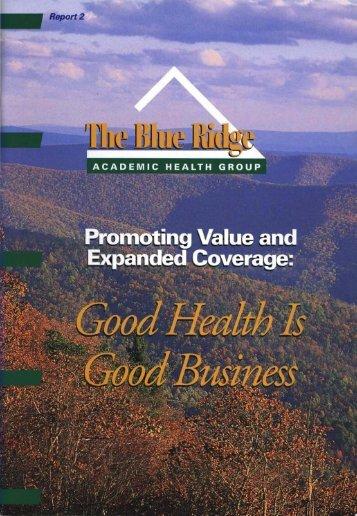 Academic Health Centers - Woodruff Health Sciences Center ...