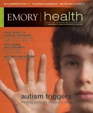 2 autism triggers - Woodruff Health Sciences Center - Emory University
