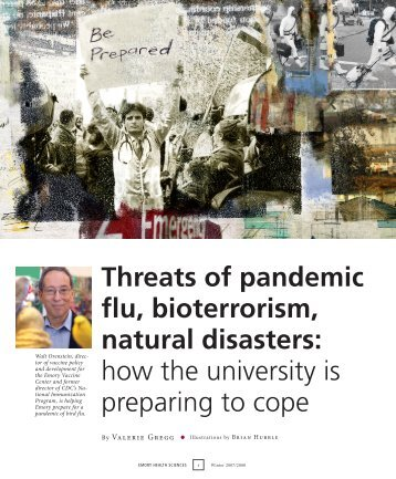 Threats of pandemic flu, bioterrorism, natural disasters - Woodruff ...