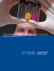 Research Strategic Plan - Woodruff Health Sciences Center - Emory ...