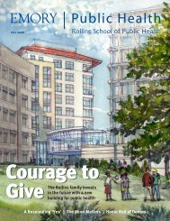 Public Health Magazine - Fall 2008 - Woodruff Health Sciences ...