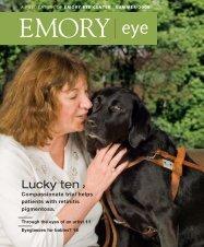 A publication of Emory Eye Center Summer 2008 - Woodruff Health ...