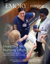 FALL 2011 - Woodruff Health Sciences Center - Emory University