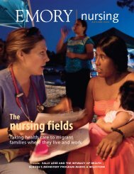 Fall 2008 - Woodruff Health Sciences Center - Emory University
