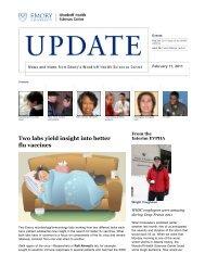 Emory | Health Sciences Update - Woodruff Health Sciences Center ...