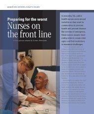 Nurses on the Front Line - Woodruff Health Sciences Center