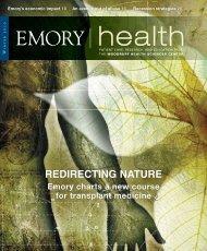 Winter 2010 - Woodruff Health Sciences Center - Emory University
