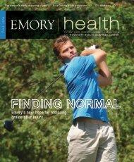 Fall 2009 - Woodruff Health Sciences Center - Emory University