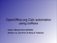 OpenOffice.org Calc automation using ooRexx