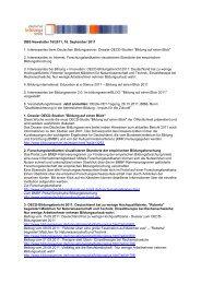DBS Newsletter 16/2011, 16. September 2011 1. Interessantes beim ...